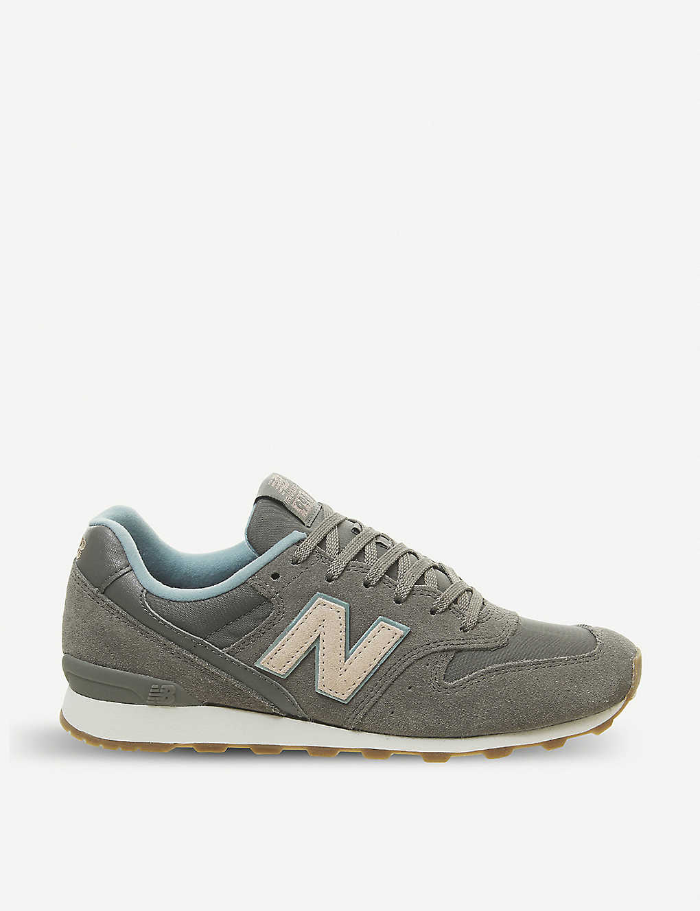 best service 2f625 e142e NEW BALANCE 996 suede and mesh trainers
