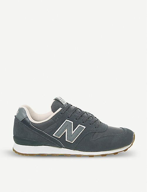 435953b2b440 NEW BALANCE 996 suede and mesh trainers
