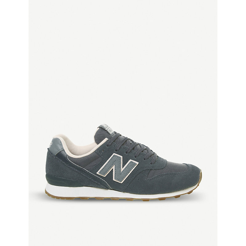 ab2f8b83e3c51 NEW BALANCE | 996 Suede And Mesh Trainers | Goxip. SHOP
