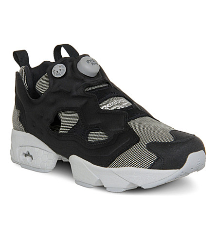 752370b0ad1247 REEBOK Insta Pump Fury trainers (Black+steel+kevlar