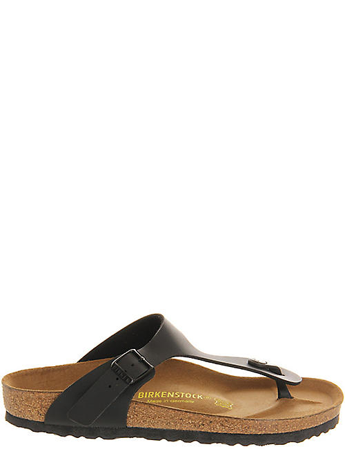 BIRKENSTOCK: Ramses faux-leather sandals