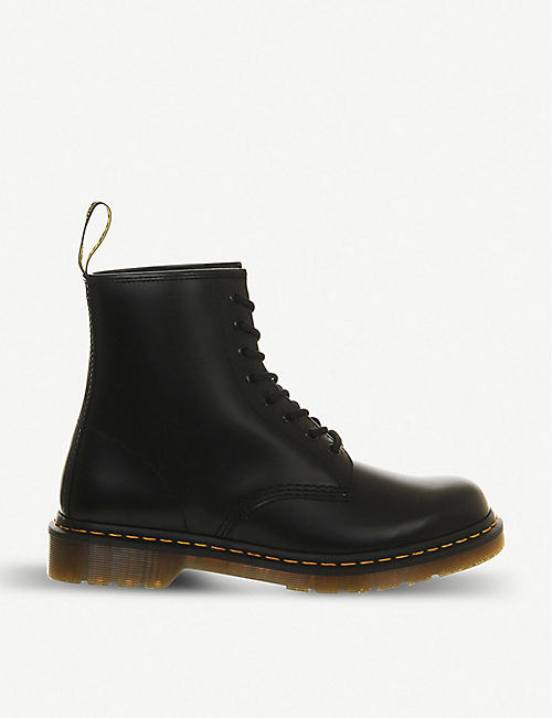 DR. MARTENS: 1460 Smooth 8-eye leather boots