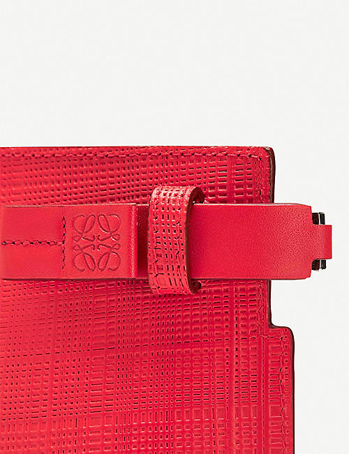 LOEWE Textured leather T Pouch
