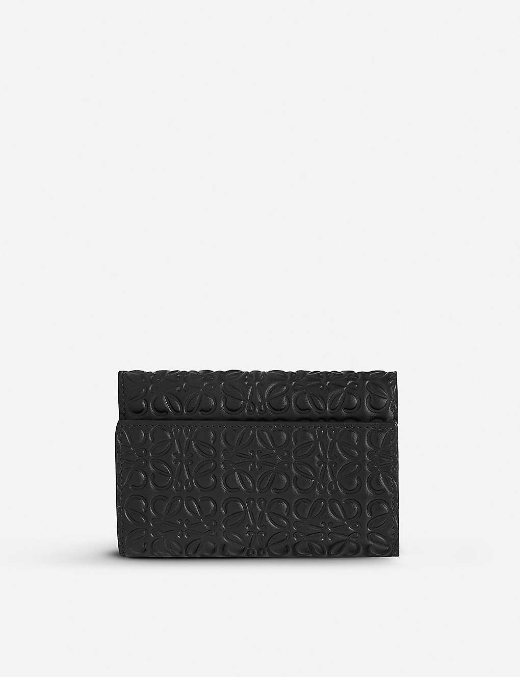 0552efe5f9 LOEWE - Embossed leather small wallet | Selfridges.com