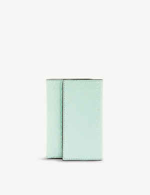 LOEWE Anagram small vertical leather wallet
