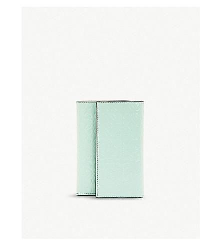 Loewe Wallets ANAGRAM SMALL VERTICAL LEATHER WALLET