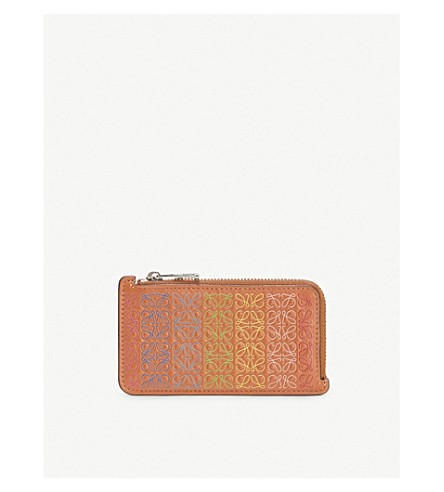 Loewe Accessories REPEAT LEATHER COIN AND CARDHOLDER