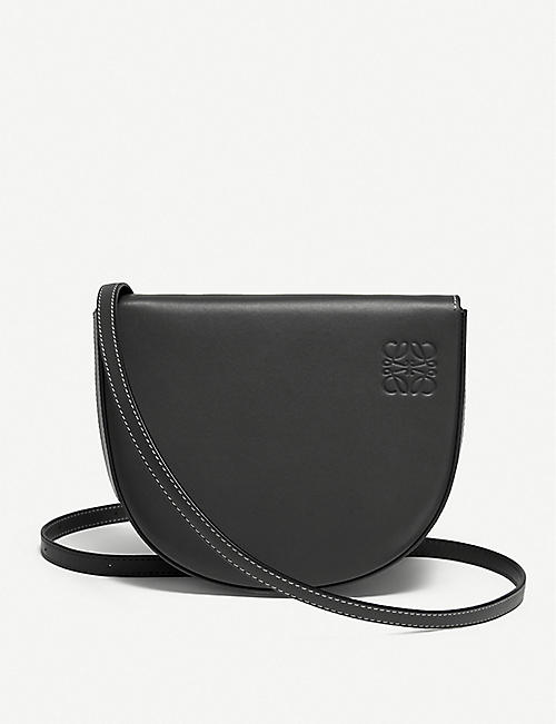 LOEWE: Heel leather cross-body bag