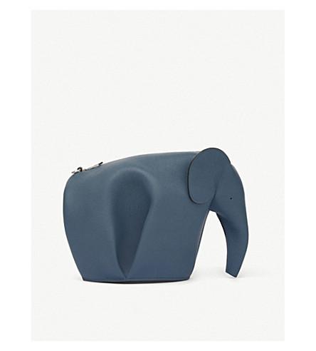 Loewe Accessories Elephant mini leather shoulder bag
