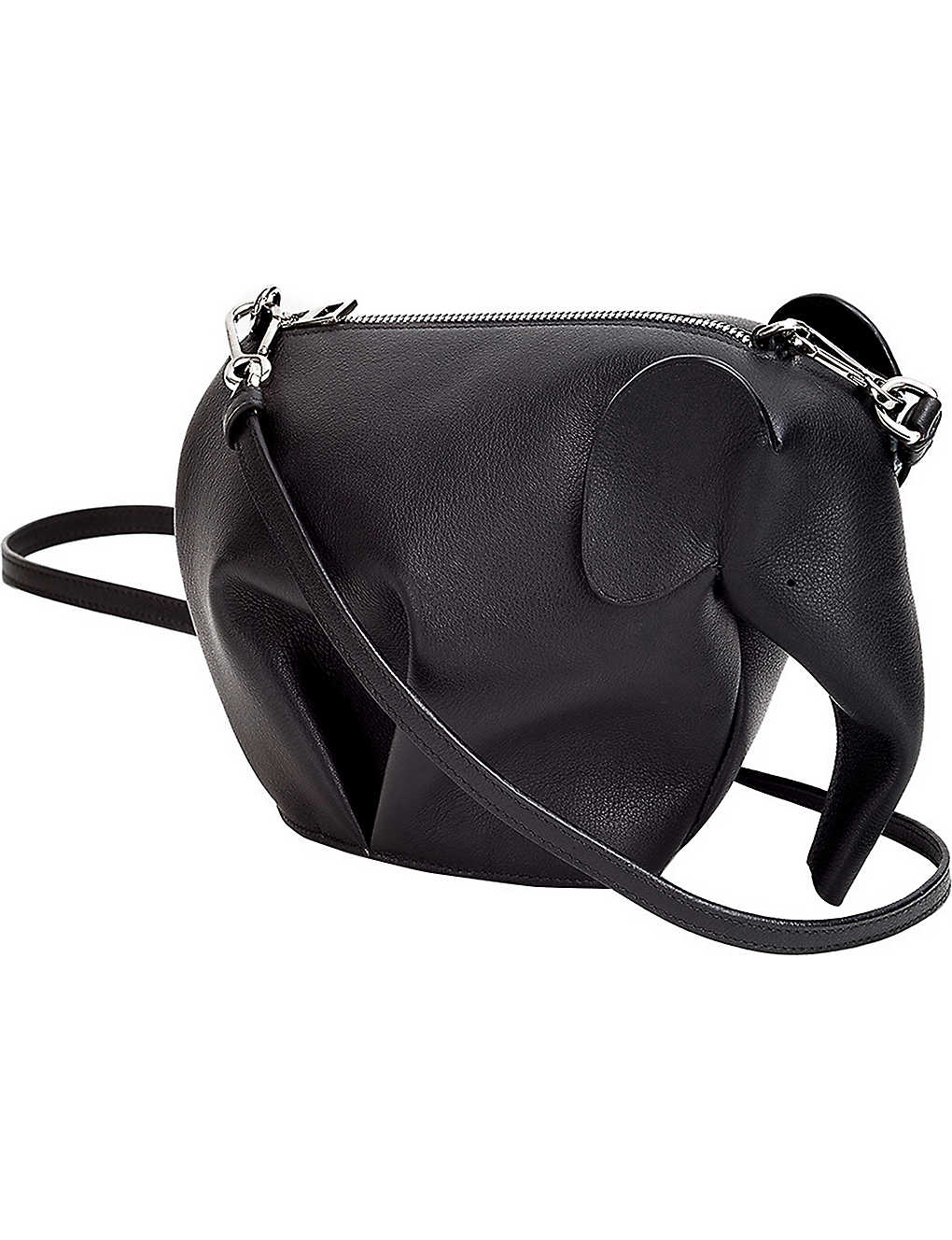 LOEWE: Elephant minibag leather shoulder bag