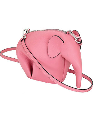 LOEWE Elephant minibag leather shoulder bag