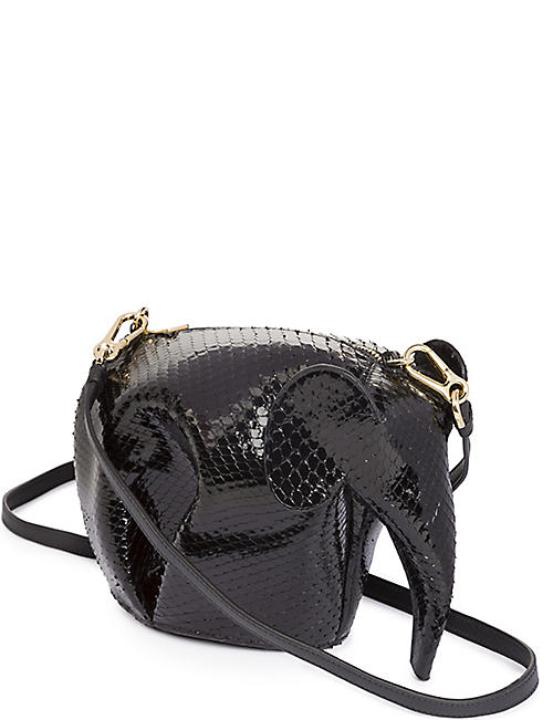 d64db7297 LOEWE Elephant minibag snakeskin shoulder bag