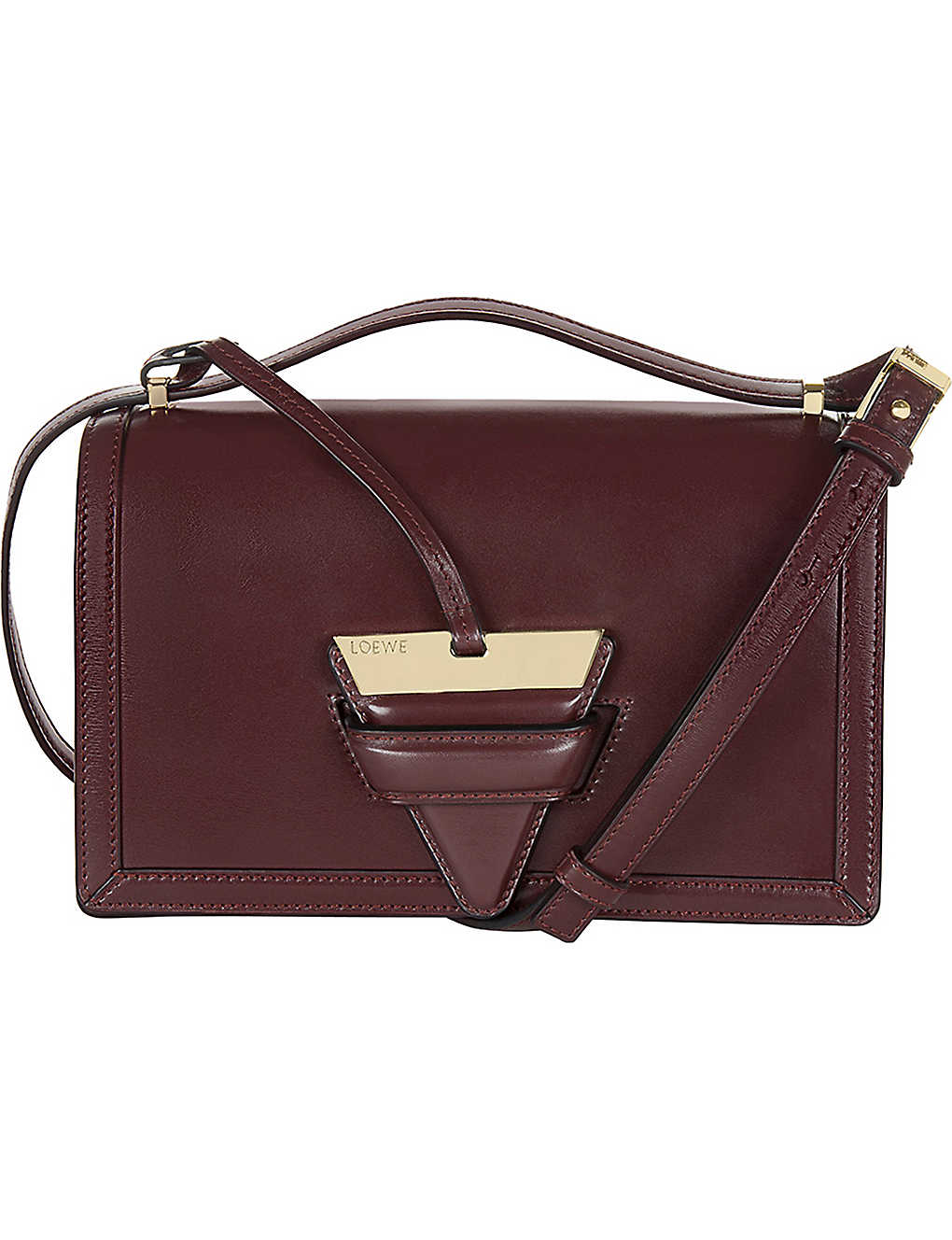 e71a98059116 LOEWE - Barcelona leather shoulder bag | Selfridges.com