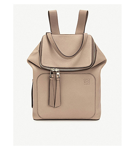Loewe Accessories Goya small leather backpack