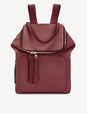 LOEWE Goya small leather backpack