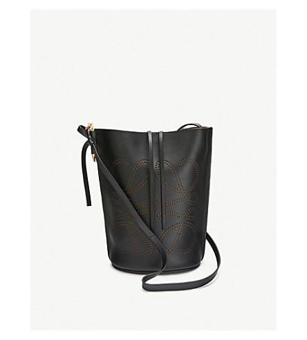 Loewe Bags Gate leather bucket bag