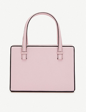 LOEWE Postal small leather shoulder bag