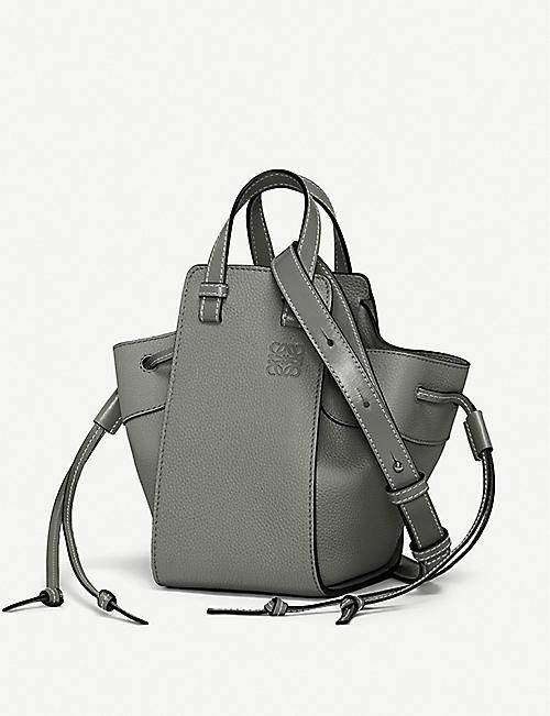 729cb12dab38 LOEWE Hammock mini leather shoulder bag