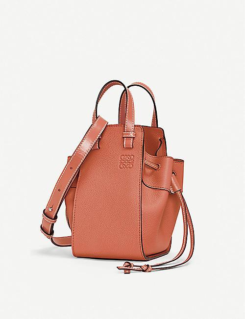 2820684ade3be3 LOEWE Hammock mini leather shoulder bag
