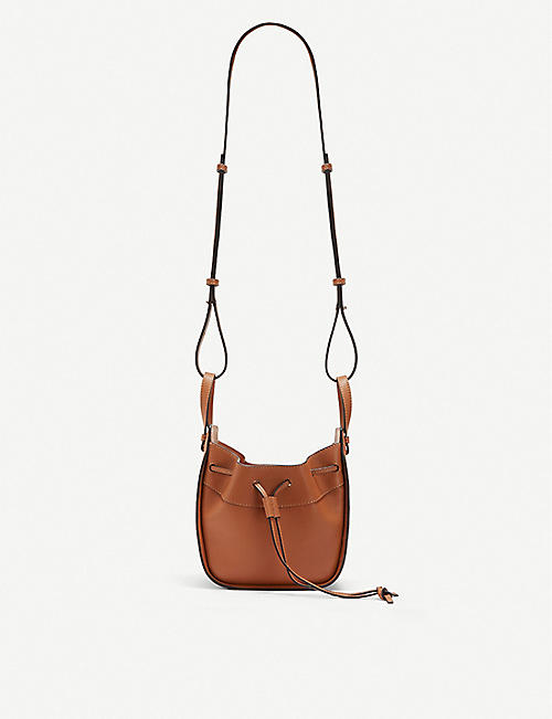 006e5f6f4298 LOEWE Hammock DW mini leather shoulder bag