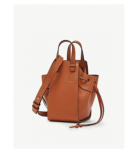 9bd4e2f704ee ... LOEWE Hammock DW mini leather shoulder bag (Tan. PreviousNext