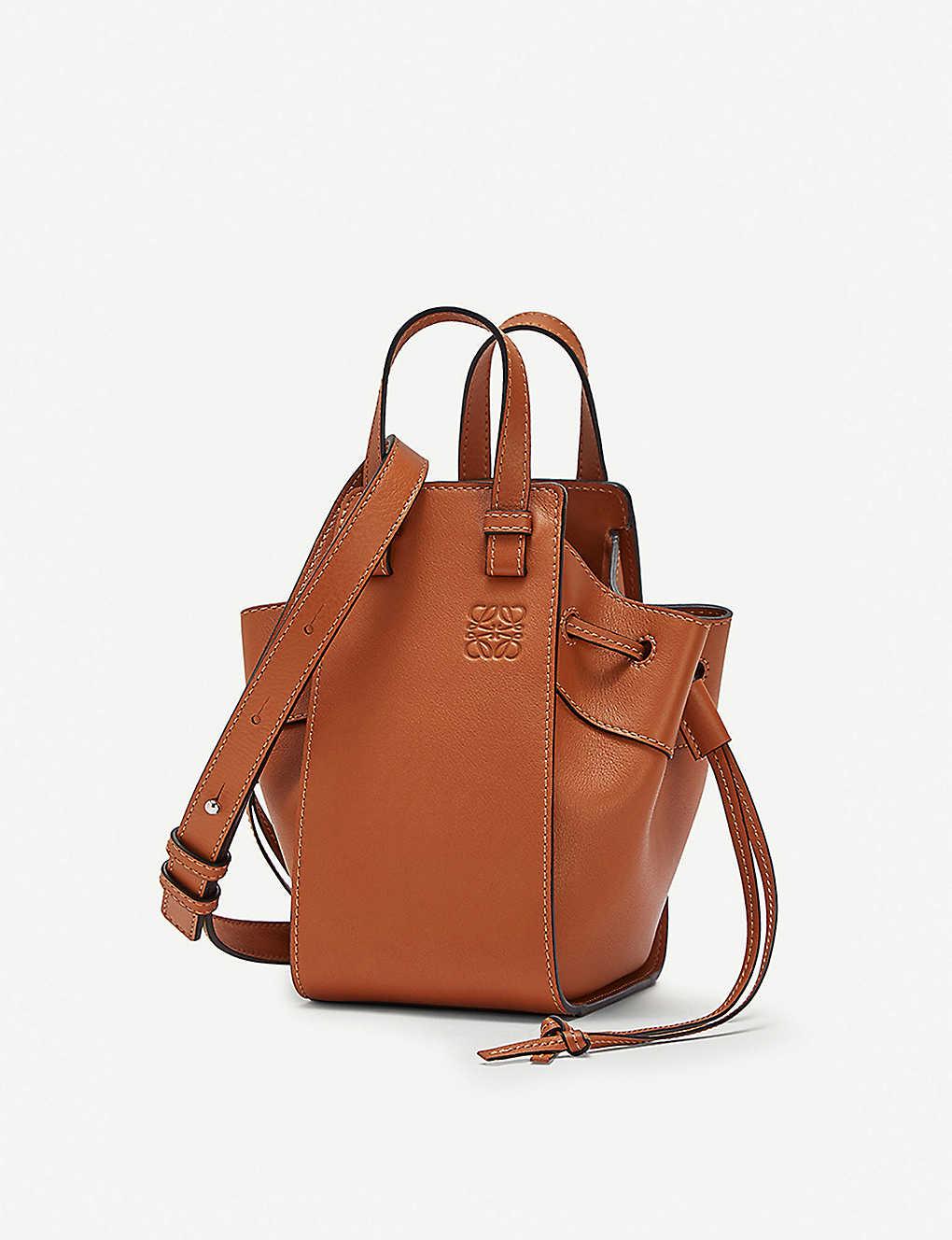 810b94bcee LOEWE - Hammock DW mini leather shoulder bag   Selfridges.comm