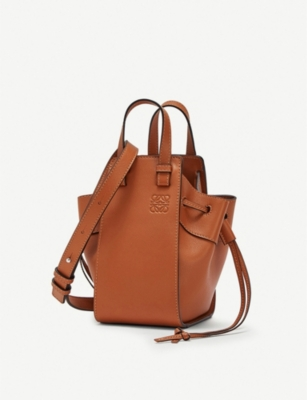 LOEWE Hammock DW mini leather shoulder bag