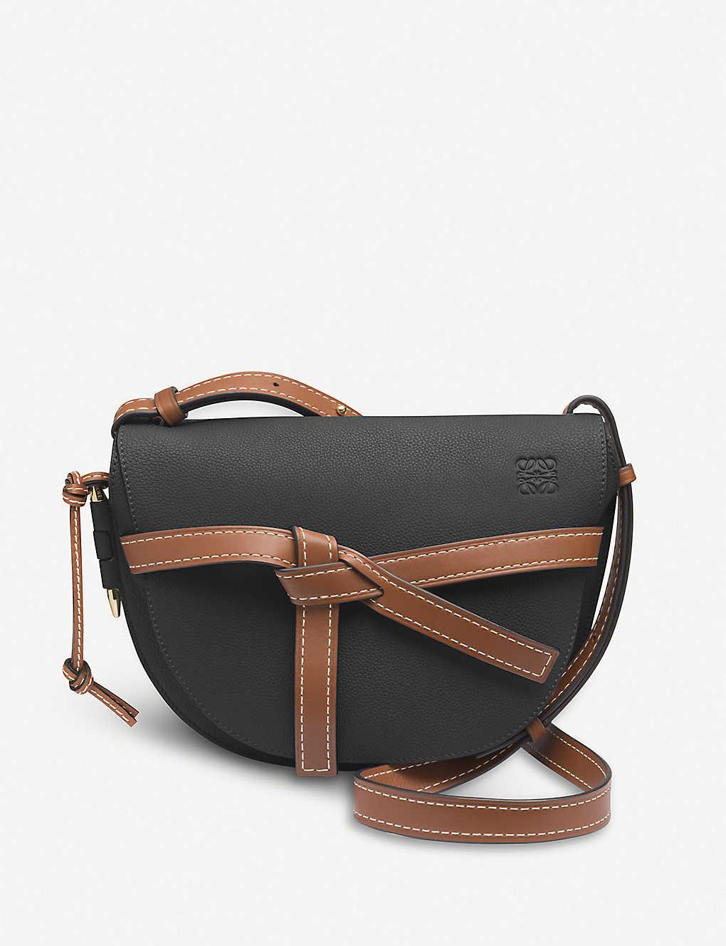 1af59a4a63c2 LOEWE - Gate small leather shoulder bag | Selfridges.com