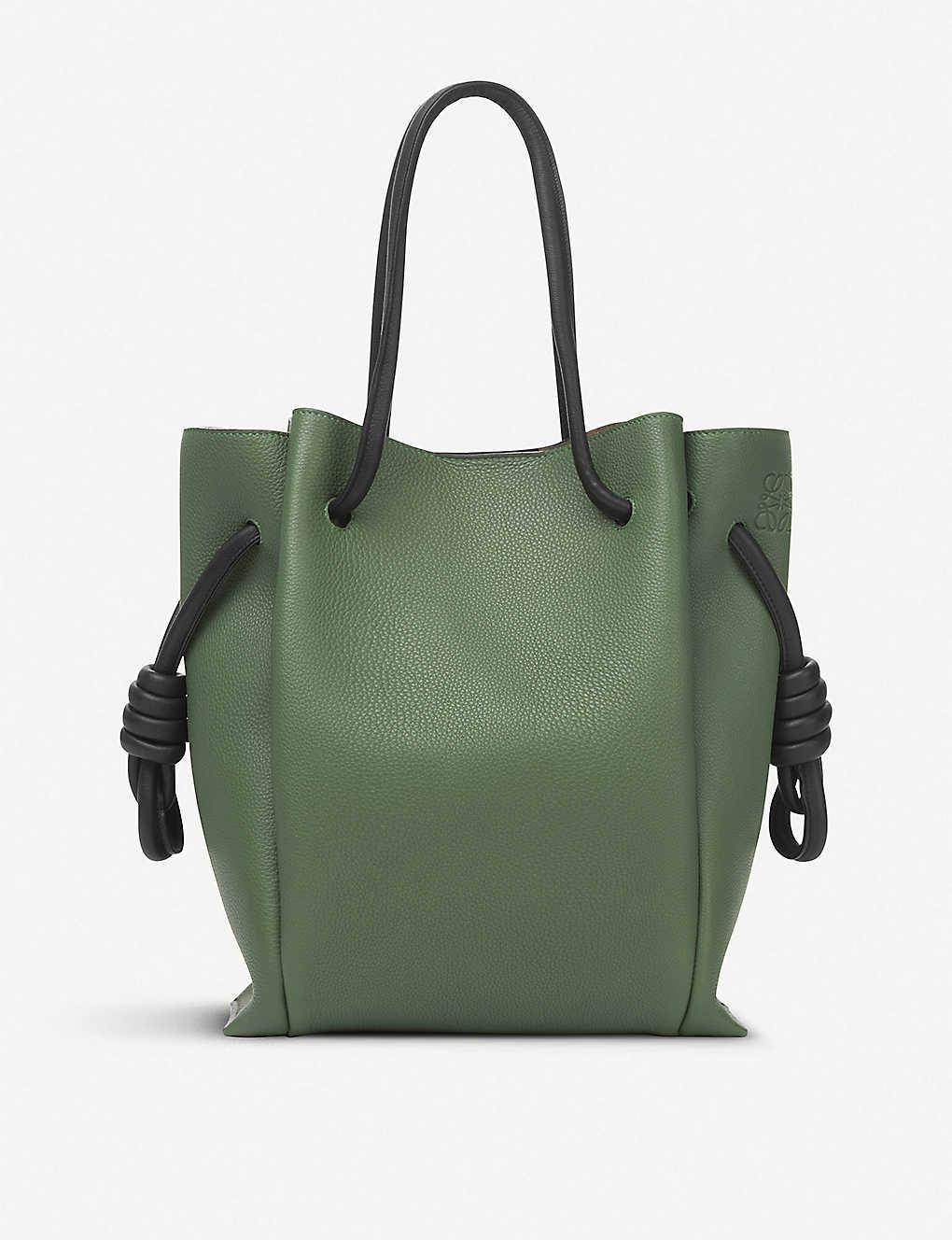 48966a252c17 LOEWE - Flamenco Knot small leather bag
