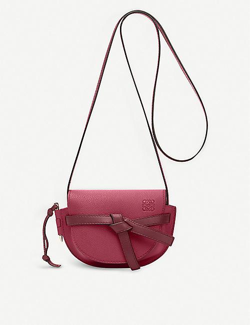 cfc4a6cbbe3b LOEWE Gate mini leather shoulder bag