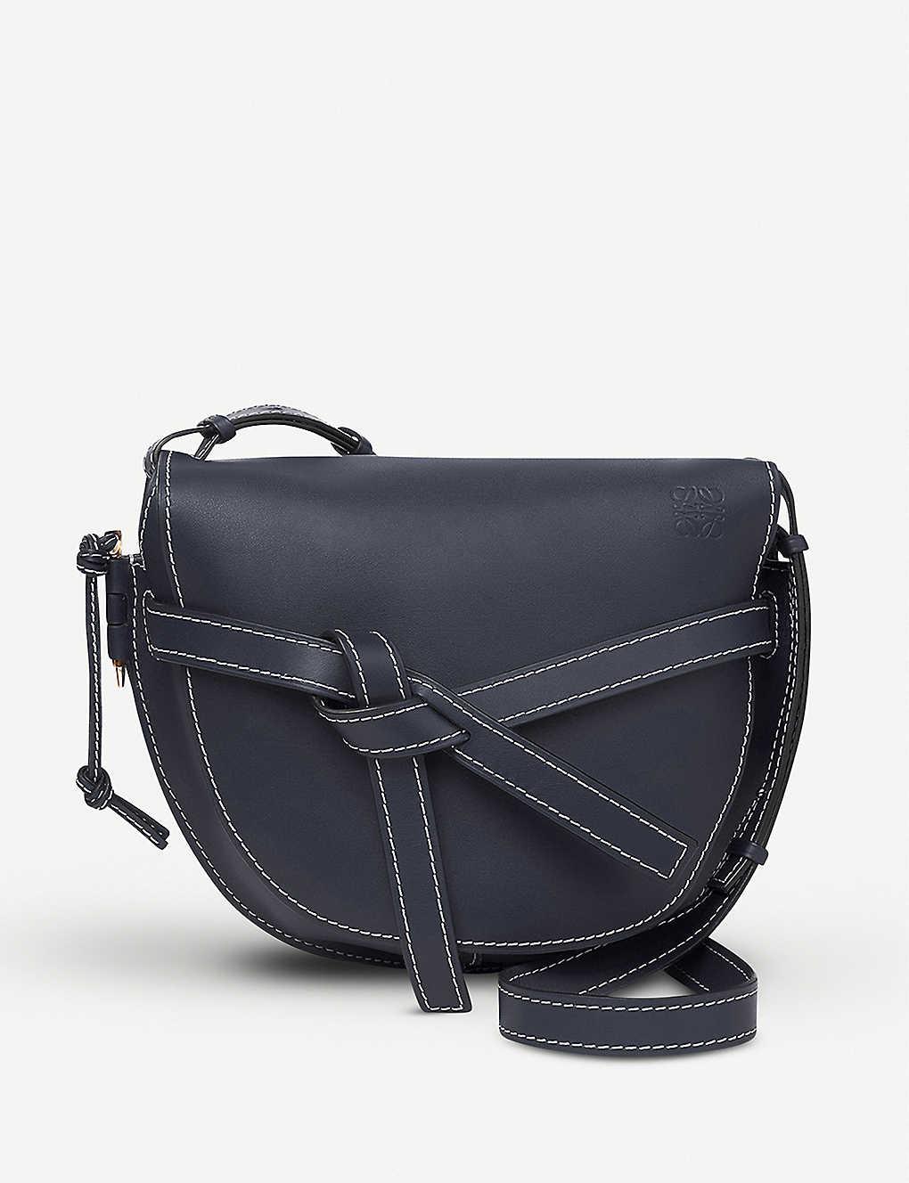 a13eba54768e LOEWE - Gate leather shoulder bag | Selfridges.com