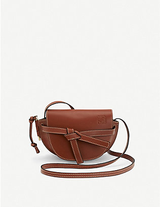 LOEWE: Gate mini leather shoulder bag