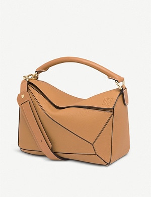 LOEWE Puzzle medium leather shoulder bag