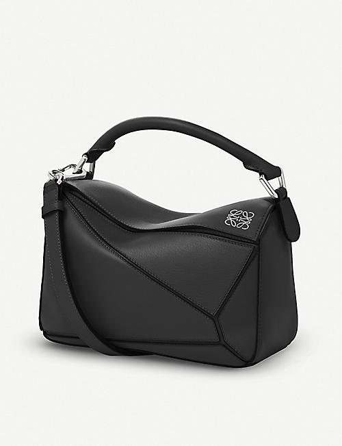 LOEWE: Puzzle small multi-function leather bag