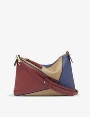 8dd4658affd5c LOEWE - Puzzle Mini leather shoulder bag