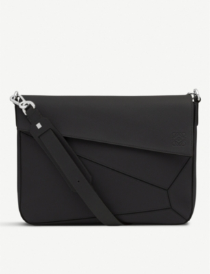 LOEWE Puzzle leather messenger bag