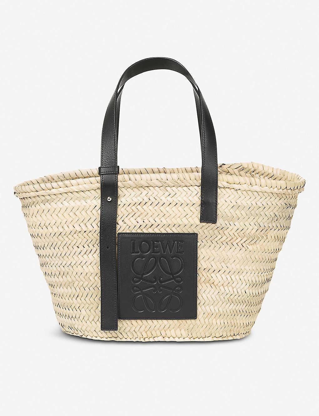 b7716f5ccf0 LOEWE - Open raffia basket bag   Selfridges.com