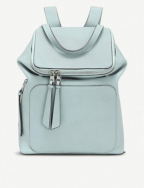 77c8e917f607 LOEWE Goya small leather backpack