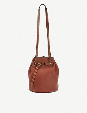 LOEWE LOEWE Lazo leather bucket bag