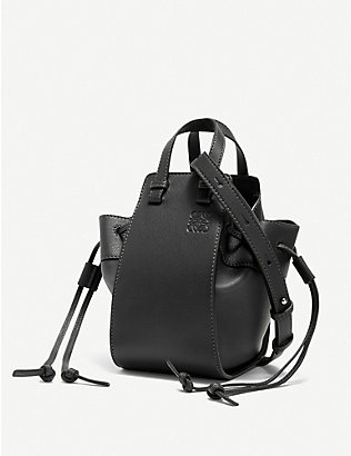 LOEWE: Hammock leather shoulder bag