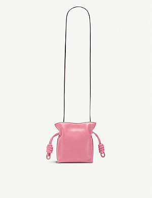 LOEWE Flamenco Knot mini leather bag