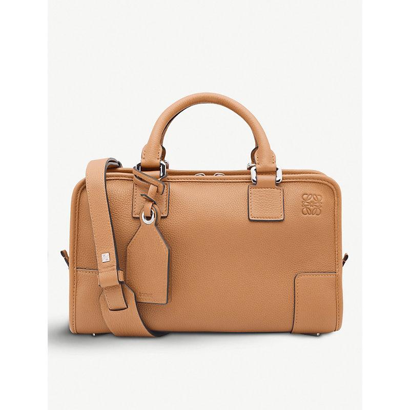 Amazona 28 Leather Tote Bag, Light Caramel