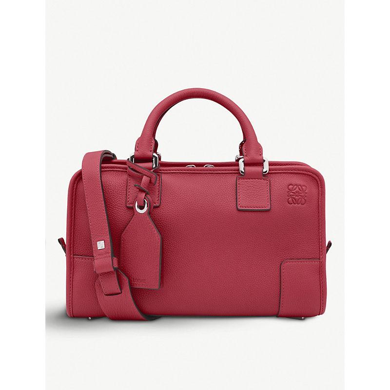 Amazona 28 Leather Tote Bag, Rouge