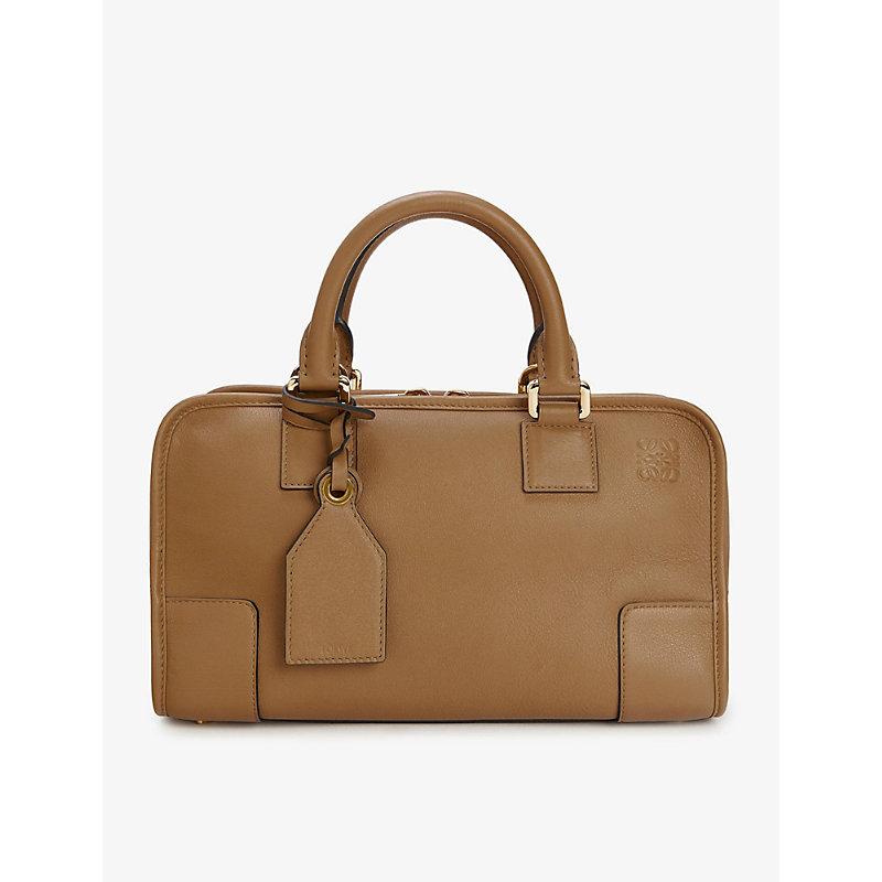 Amazona 28 Leather Tote Bag, Mink