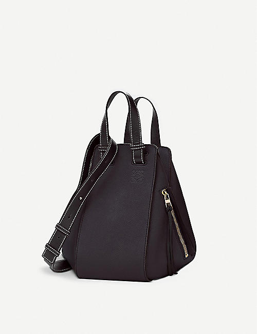 a7748826bda9 LOEWE Hammock small leather shoulder bag