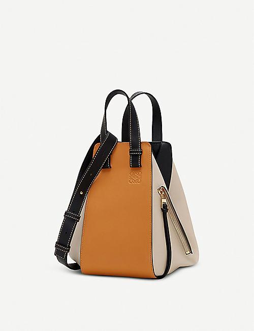 887b2d6a50 LOEWE Hammock small leather shoulder bag