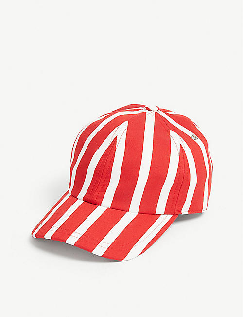 SANDRO Striped baseball cap