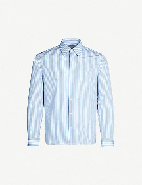 938d8a853 SANDRO - Shirts - Clothing - Mens - Selfridges | Shop Online
