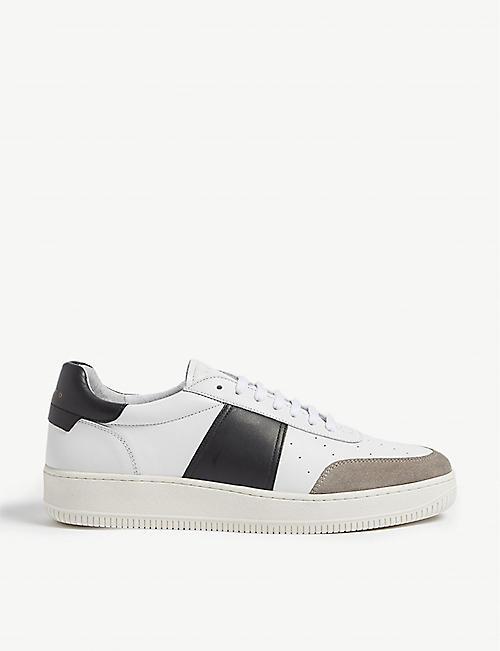 910d002bc SANDRO - Sports shoes - Trainers - Shoes - Mens - Selfridges | Shop ...