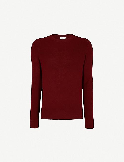 34d66d9fe95 SANDRO Crewneck wool-blend jumper
